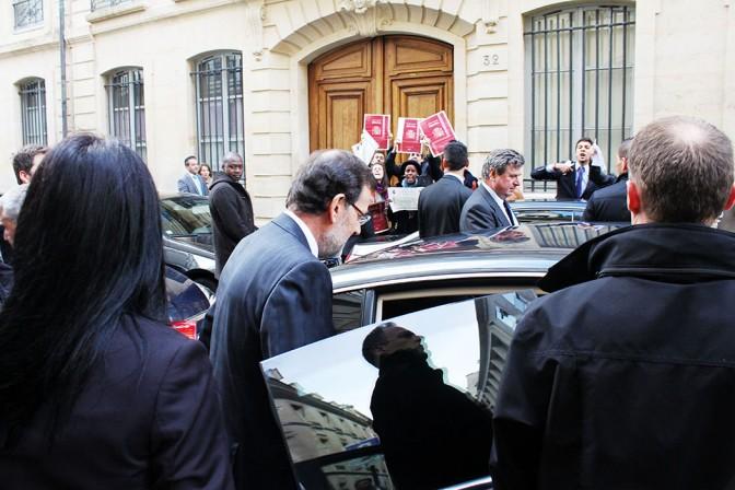Manuelo Rajoy au 27 rue Saint Guillaume