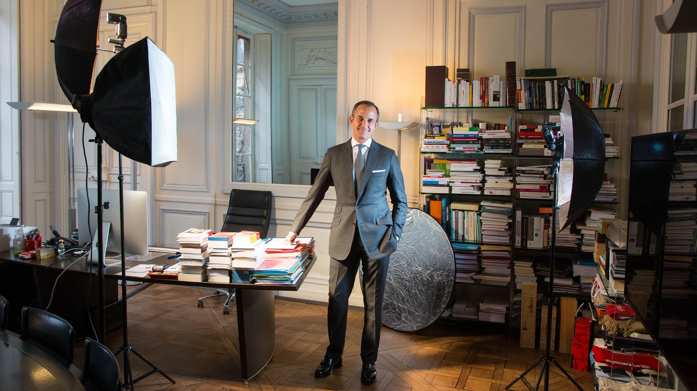 Frédéric Mion : «Je suis presque un peu gêné par le temps que vous m'avez consacré» Portrait du directeur de Sciences Po.